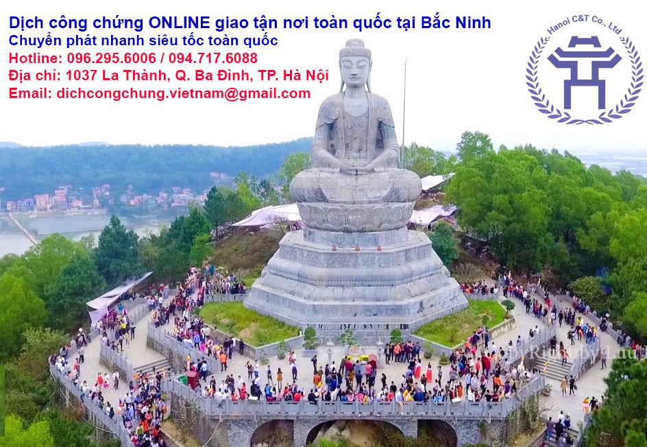 dịch thuật công chứng tại Bắc Ninh